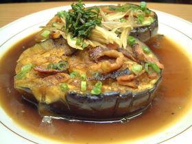 三豊茄子(水茄子)のステーキ