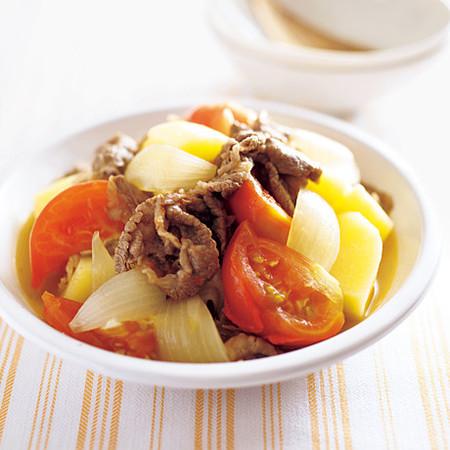 牛肉とトマトのさっぱり煮