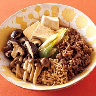 きのこ肉豆腐
