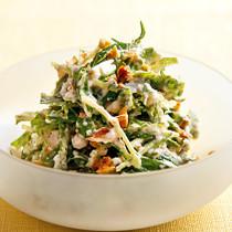 くるみと豆腐のサラダ