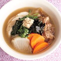 豚と根菜のスープ