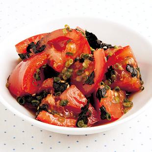 トマトの焼きのりナムル