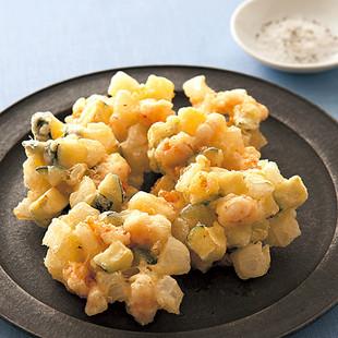 えびのチーズかき揚げ