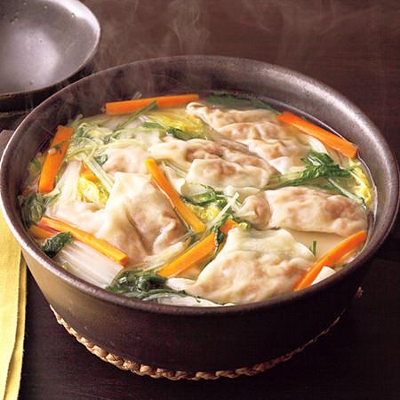 納豆ワンタン鍋