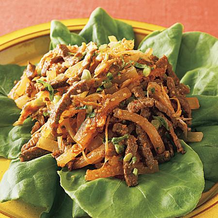 牛肉と大根の韓国風炒めサラダ