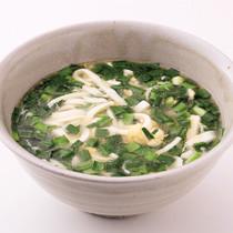 豆腐スープ