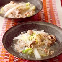 豚と白菜のスープ煮