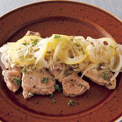 豚のレモンマリネソテー