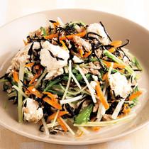 豆腐とひじきのチャンプルー