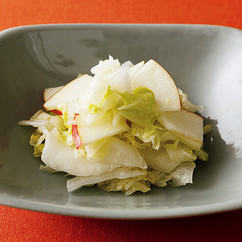 りんごと白菜のサラダ