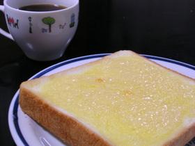 我が家の朝の定番!!シュガートースト