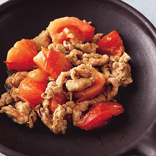 豚とトマトのスパイシー炒め