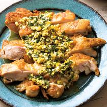 カレー油淋鶏