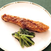 鮭の韓国風香味焼き