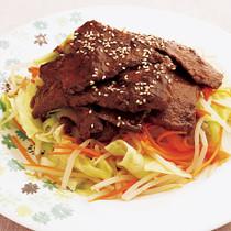 ジンギスカン風焼き肉