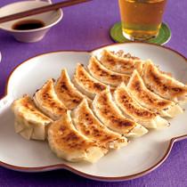 豆腐入り焼き餃子