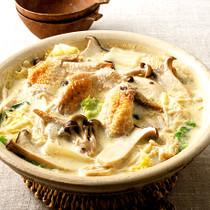 とりの豆乳白湯鍋