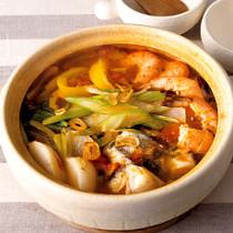 魚介の香味トマト鍋