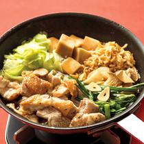中華風とりすき焼き