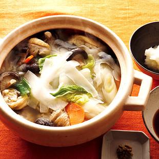 大根&白菜の白湯(パイタン)風鍋