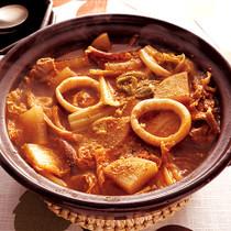 大根&白菜の韓国風鍋