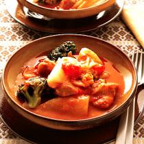 焼き大根&白菜のトマトシチュー