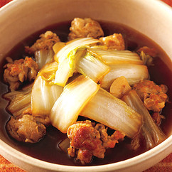 豚バラと白菜のオイスターソース煮込み