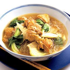 しらたきのカレー風味汁麺
