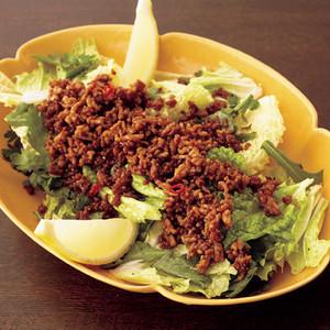 ひき肉と白菜のアジアンサラダ