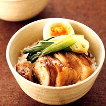 中華風とりのっけご飯