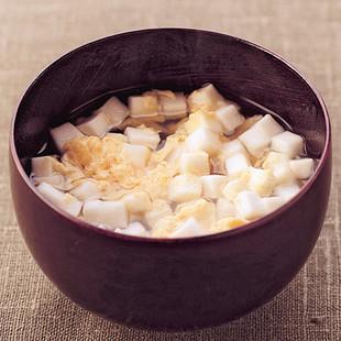 はんぺんのかき玉スープ