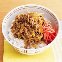カレー牛丼