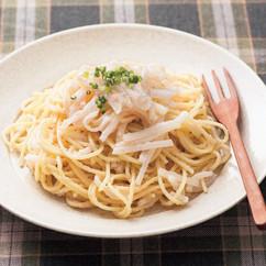 たらこ大根スパゲッティ