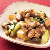 とり肉と根菜の中華煮
