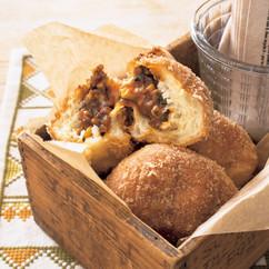 きのこミートパン