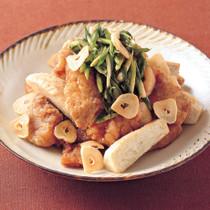 豚肉と里いものスタミナから揚げ