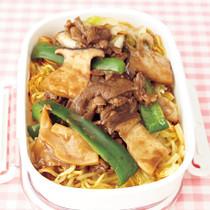 中華風かた焼きそば弁当