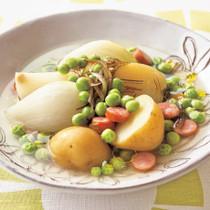 春野菜のごろごろスープ