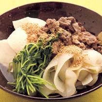 塩味肉豆腐