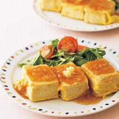 豆腐のピカタステーキ