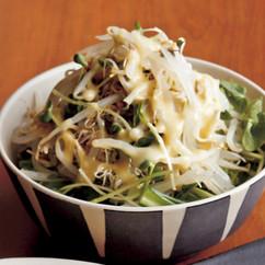 新芽野菜のサラダ