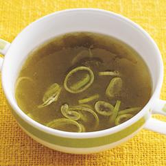 とろろ昆布の中華スープ