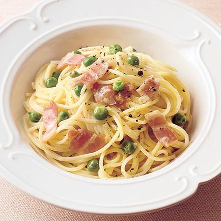 グリーンピーススパゲッティ