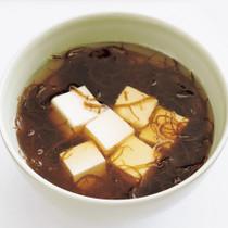もずくと豆腐の中華スープ