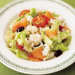 レタスサラダご飯