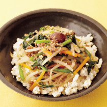ビビン豆腐ご飯