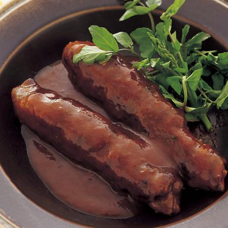 肉巻きドミグラスソース煮