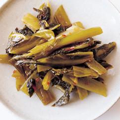 高菜の辛み炒め