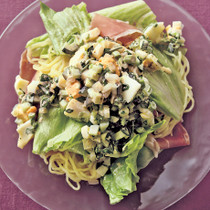 夏野菜のタルタル冷やし中華
