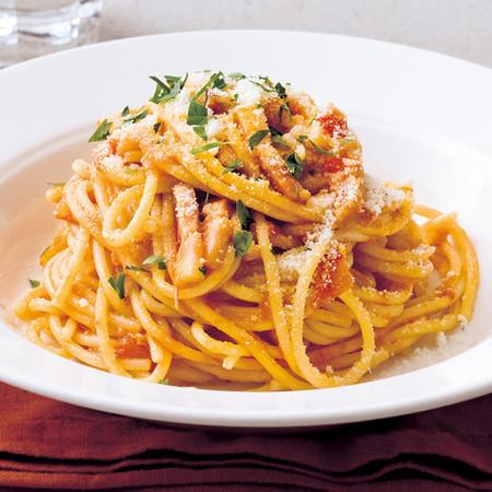 トマトソーススパゲッティ